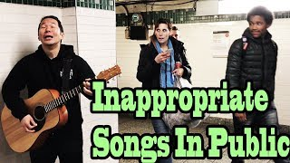 Download Lagu SINGING INAPPROPRIATE SONGS in the NYC SUBWAY (SINGING IN PUBLIC) Gratis STAFABAND