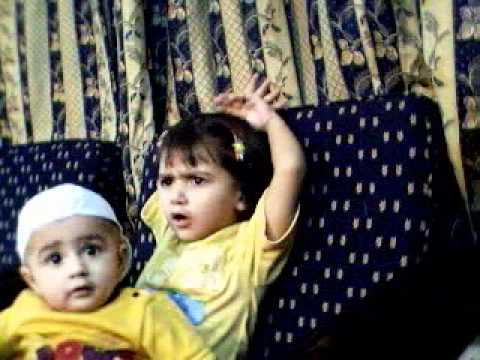 funny baby javairia khan & uzair khan the real pathans