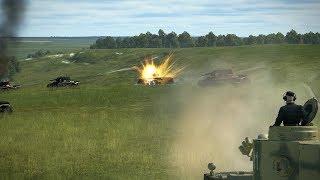 IL-2 Tank Crew - Tiger slugging it out! (BOOMBASTIC!)