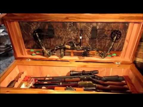 Remote Unlocking Weapons Storing Coffee Table w/ Hidden Drawer