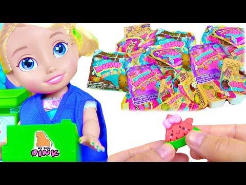 Мини Сквиши СМУШИ МУШИ! Smooshy Mushy ИГРАЕМ В МАГАЗИН С ЭЛЬЗОЙ! Pretend Play with Elsa Toddler