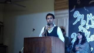 Farewell Speech - Syed Nazmus Sakib (JU English Batch 40)