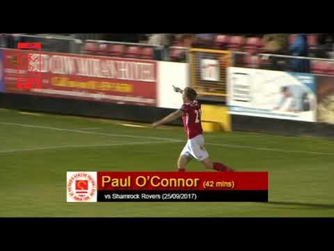 Goal: Paul O'Conor (vs Shamrock Rovers 25/09/2017)