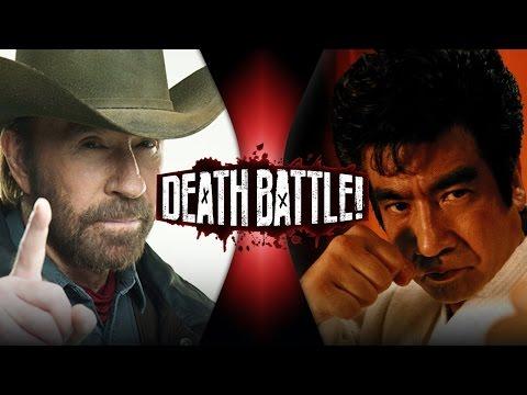Chuck Norris VS Segata Sanshiro | DEATH BATTLE!