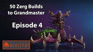 StarCraft 2: NYDUS WORM + BANELINGS?! - 50 Zerg Builds to Grandmaster Episode 4