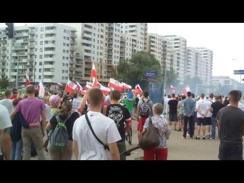 69. Rocznica Wybuchu Powstania Warszawskiego. Godzina W 1.08.2013 Warszawa Bemowo