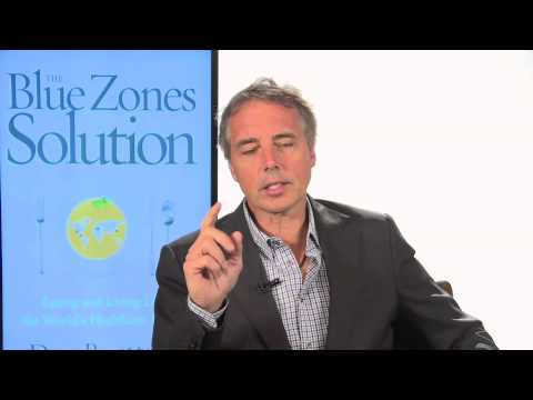 Dan Buettner - Blue Zones Solution