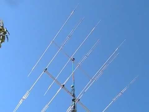 Rohn HDBX48 Tower with Antennas that I just purchased