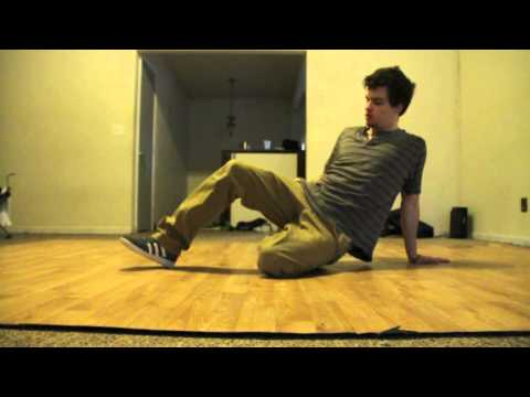 Bboy Footwork Drop Tutorial video