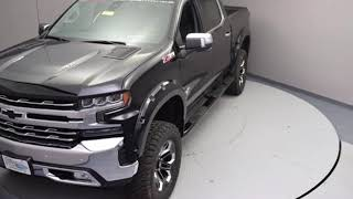 New Lifted Truck 2019 Chevy Silverado Black Widow