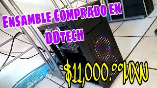 PC Gamer de subscriptor | Ensamble comprado en DDtech por $11,000.°°
