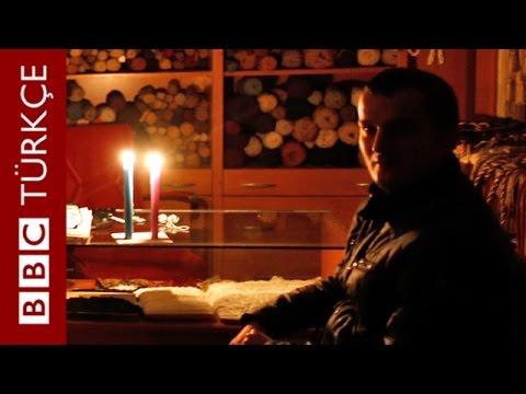 Türkiye'de elektrik kesintileri nedeniyle hayat...