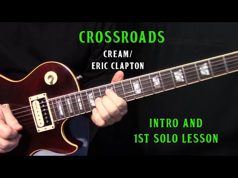 How To Play Crossroads By Cream_
