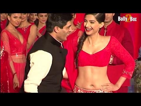 Manish Malhotra Gets Naughty With Sonam Kapoor video