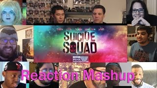 SUICIDE SQUAD FINAL TRAILER REACTION MASHUP!!!