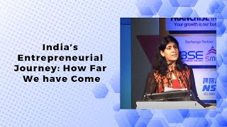 Indias Entrepreneurial Journey  How Far