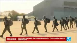 Gambia: Senegalese troops have entered the country