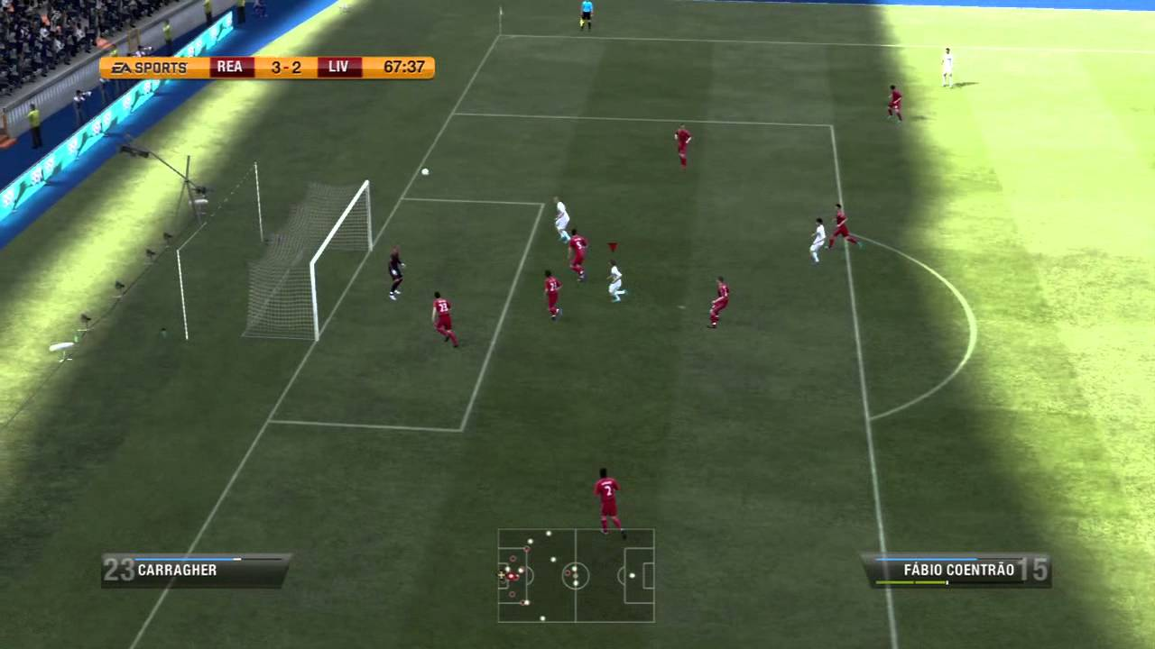 FIFA 12 Gameplay (PS3) - Real Madrid vs Liverpool - YouTube