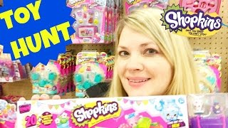 TOY HUNT! Shopkins SHOPKINS & More Shopkins! New 2016 Toys at Target!