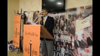 Jeofizik Değişim Platformu 3.Geleneksel İftar Yemeği Açılış Konuşması - Mustafa ALBAYRAK