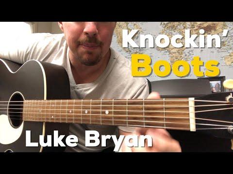 Download Lagu  Knockin' Boots | Luke Bryan | Beginner Guitar Lesson Mp3 Free