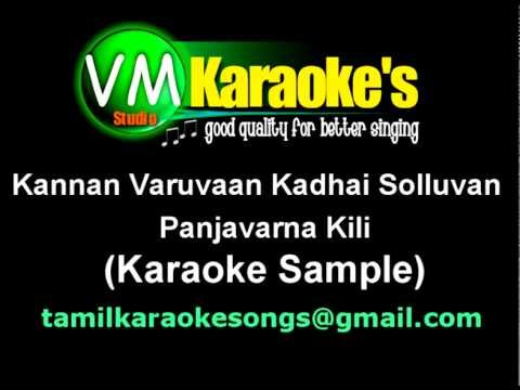 Kannan Varuvaan Kadhai Solluvan (karaoke Sample) video