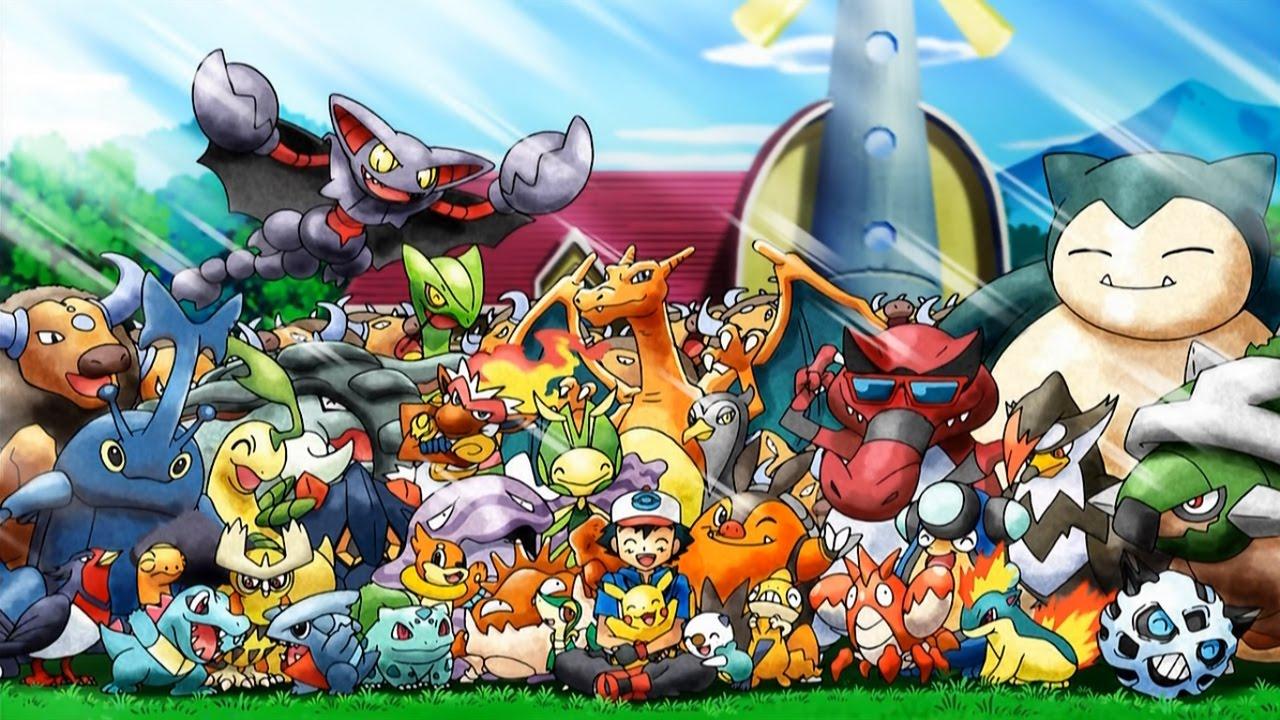 Ashs Pokemon Teams Throughout the Regions  MyAnimeListnet