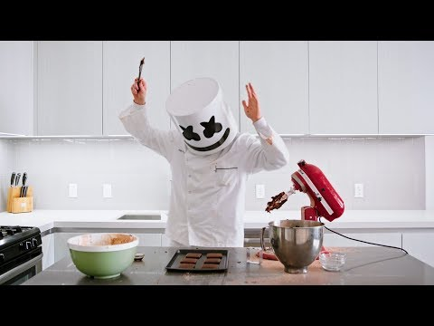 download song Stuffed Puff Cookie Sandwich |  Cooking with Marshmello free