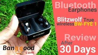 Blitzwolf BW- FYE 1 True Wireless Earphone with Charging Box Detailed REVIEW | Banggood | HINDI