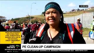 A Port Elizabeth community embarks on a cleanup campaign