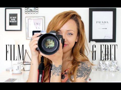 How I Film, Edit & Instagram!   Beautycrush