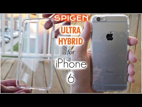 Spigen Ultra Hybrid iPhone 6 Case Review