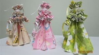 How To Make 3-d Paper Doll - Edwardian Lady