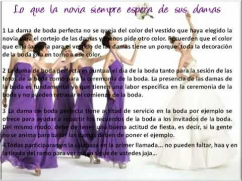 Mandamientos de las Damas de Honor - Lizbeth