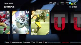 Madden 16 Opening Card Packs(98 Ed Reed Elite)