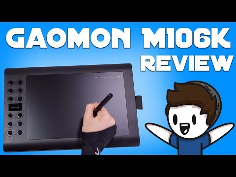 Gaomon M106K Tablet - Unboxing and Review