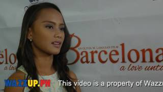 Part 5 Barcelona Premiere Night   Fan Reactions from Badjao Girl Rita Gaviola