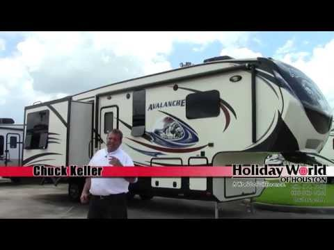 New 2014 Keystone Avalanche 295 RL Fifth Wheel RV - Holiday World of Houston, Dallas & Las Cruces