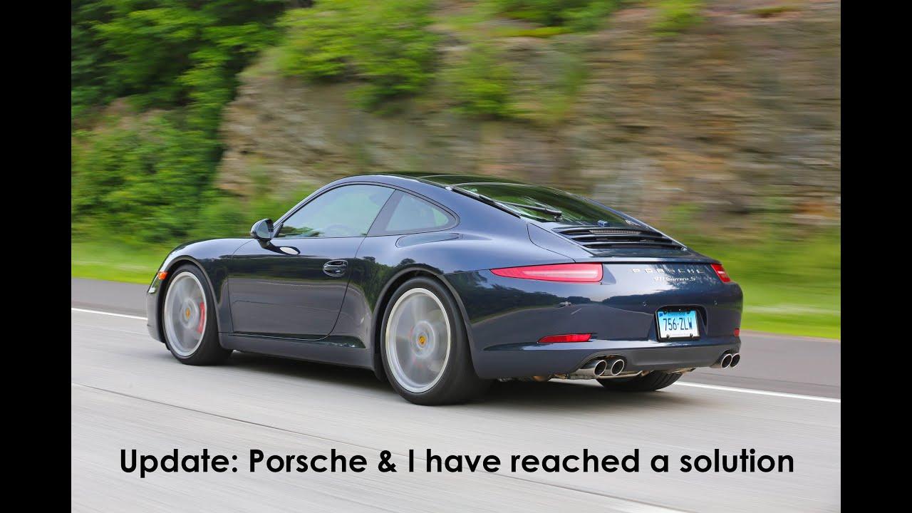 Porsche 911 991 Issues