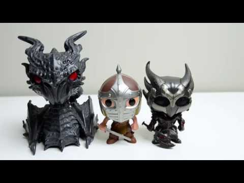 Funko Pop! The Elder Scrolls V Skyrim - Three Figure Review