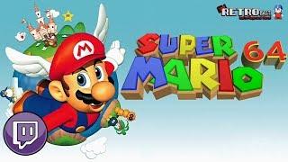 Livestream ► #093 - Super Mario 64: Sunny zeigt uns wie es geht... oder auch nicht ?! (N64)