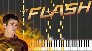 The Flash - The Tsunami / Reveal to Iris Piano Tutorial [100% Speed]