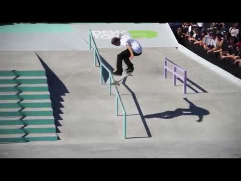 Dew Tour Long Beach: Yuto Horigome Shane O'neill Chris Joslin