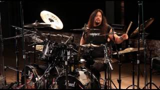 GENE HOGLAN - Skeksis ( Strapping Young Lad drum playthrough)
