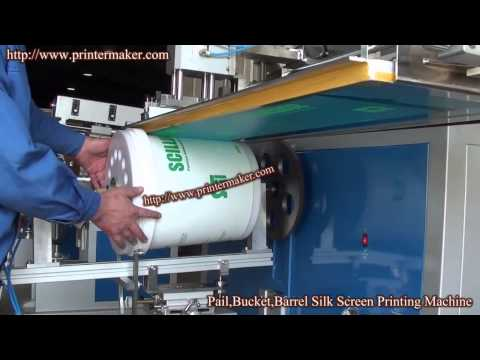 Pail,Bucket,Barrel Silk Screen Printing Machine (China)