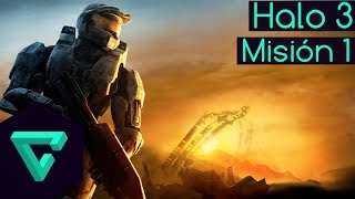 HALO 3 | MISIÓN 1 - SIERRA 117 - AUDIO LATINO | HD 60FPS