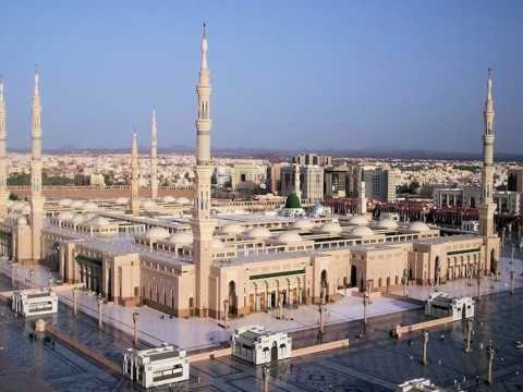 Masjid Al-nabawi Rev. 2. Medinah, Saudi Arabia, 12-11-10 video