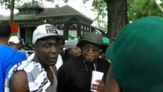 212 Black Indians At A Second Line Stop