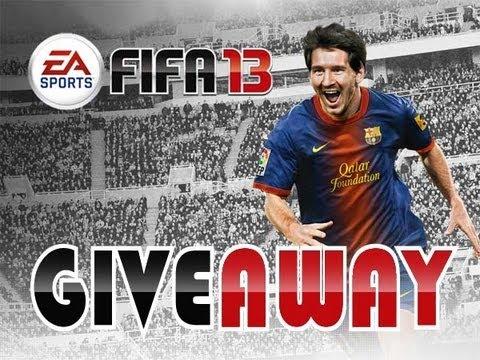 FIFA 13 Giveaway xbox 50k!
