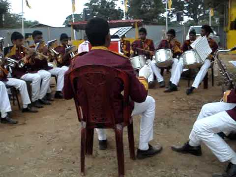 Sri Sumangala Cadet Band , With Dayata Kirula, Niwahal Sithuwili,.mpg video